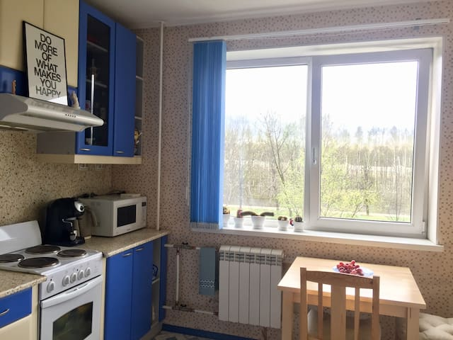 A nice one-bedroom apartment near to the park