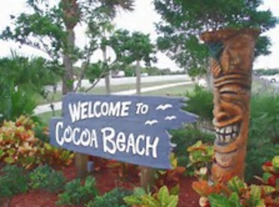 Close to The Famous Cocoa Beach