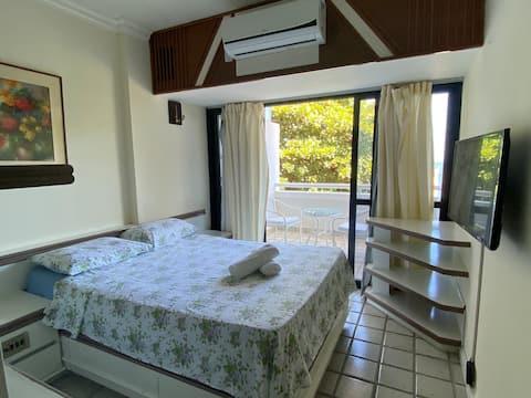 Confortável e aconchegante apartamento na Barra