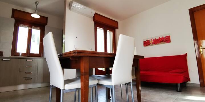 casa nuova favolosa vista 300mt mare tutti comfort