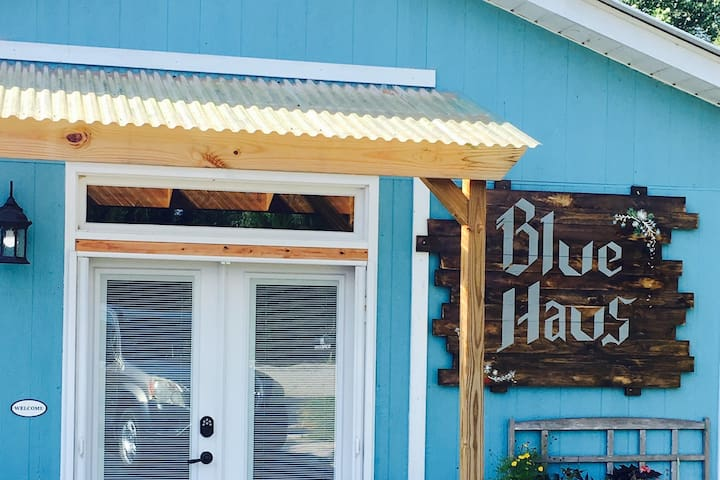 Welcome to the Blue Haus, a globally-minded guesthouse in the SC foothills.