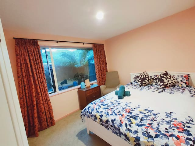 Cozy Bedroom For 2Persons~close airport ※Pickup$12