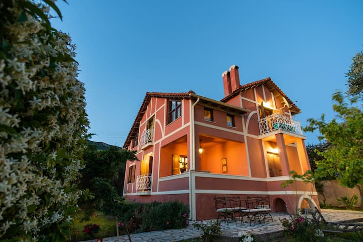 Villa Meliti-Kanouli beach-Corfu