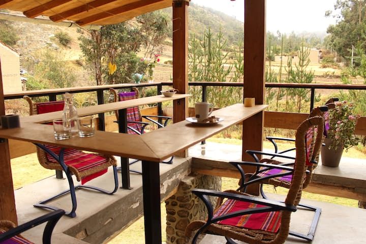 Huaraz Mountain Lodge (bed in shared room)