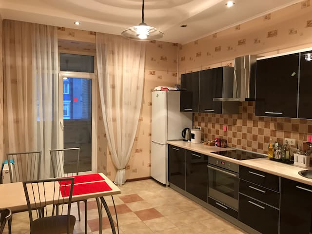 Silent, fresh, big apartment with full furniture. - Kiev - Apartment