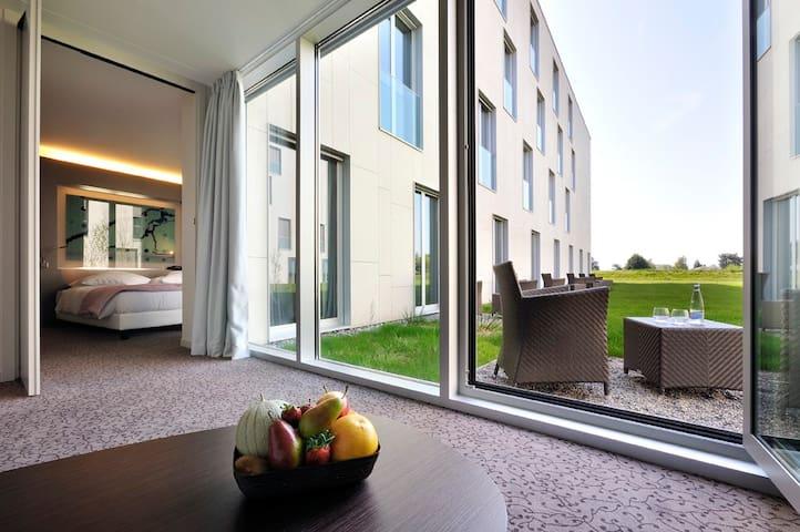 Studio n°1 avec petit jardin proche de EPFL & lac - Saint-Sulpice - Wikt i opierunek