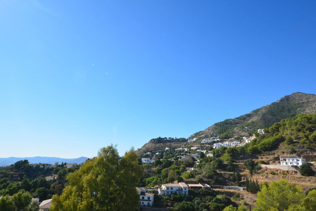 Gorgeous views of the Mijas Pueblo