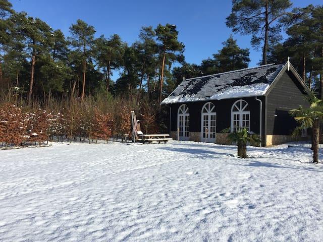 Hunting Lodge winter