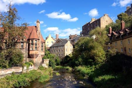 Charming  Apartment in Edinburgh's Dean Village - Edinburgh - Apartment
