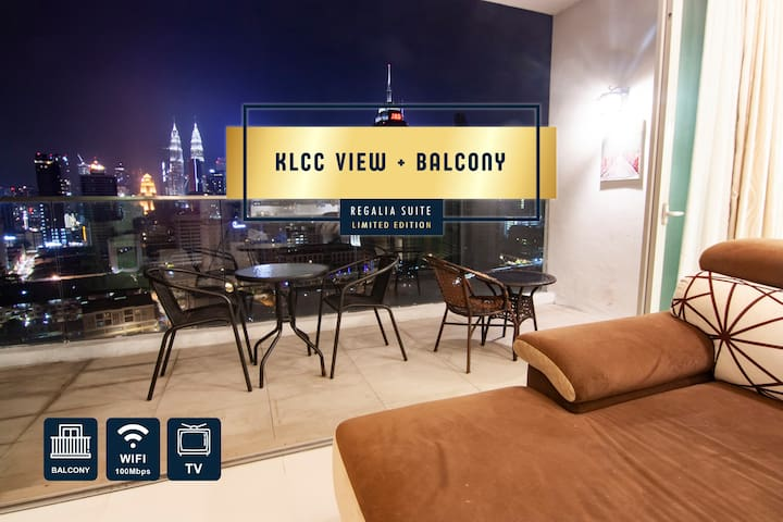 【Limited Edition】3 Bedroom + Balcony @ REGALIA KL