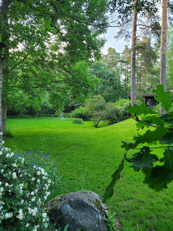 Surrounded by nature only 30 minutes from Helsinki