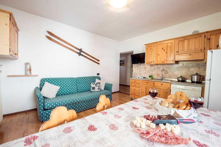 3-room apartment for 5-7 persons - Val di Fassa