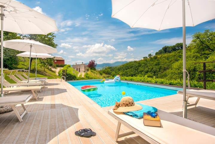 Villa La Quercia d'oro - Canapegna village