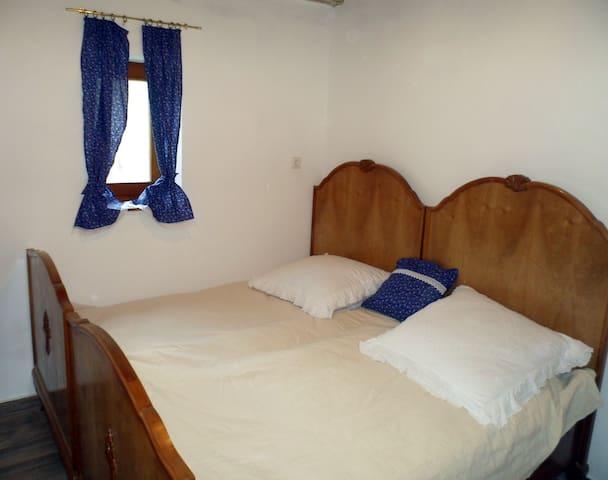 Retro Blue Vendégház Nagyharsány - Hálószoba