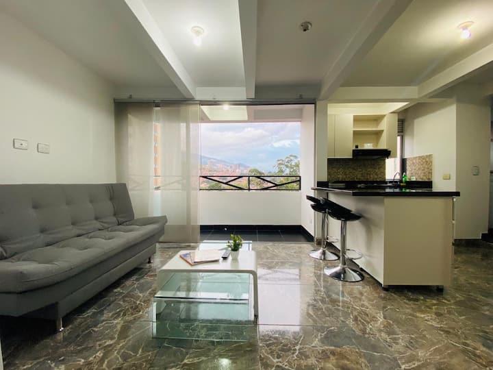 Lindo y moderno apartamento en Medellin