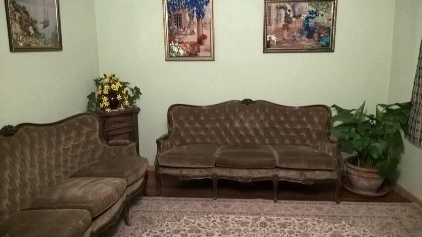 salone con TV comune