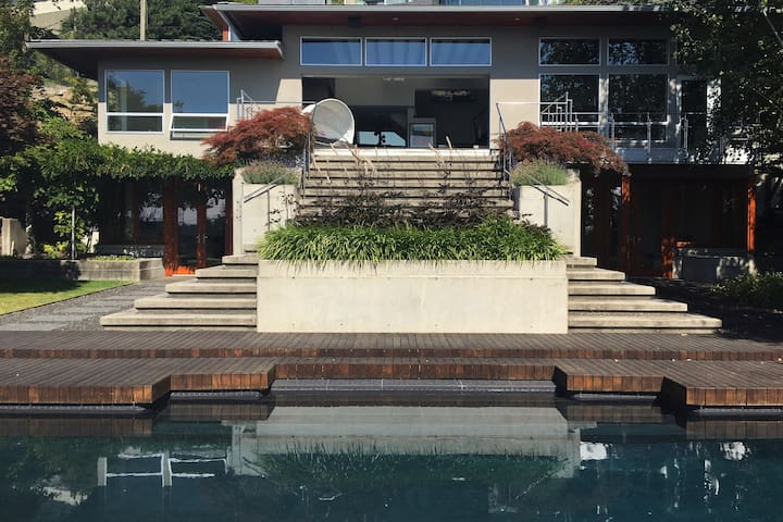 Contemporary West Vancouver Home - Pool