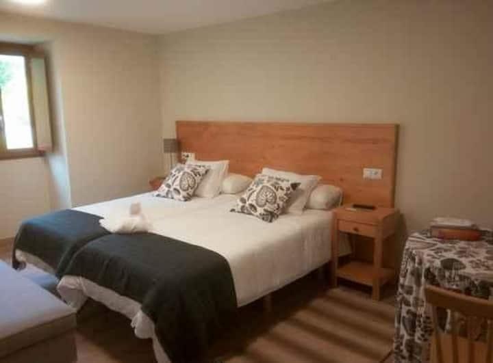 O Cruceiro - Habitacion 2 camas con baño