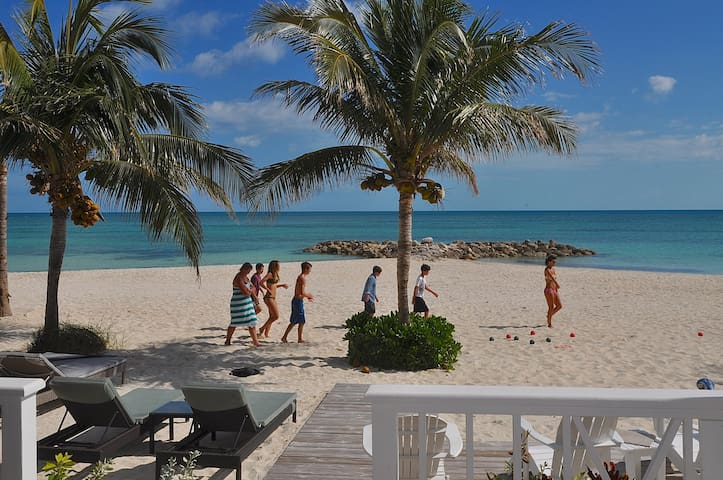 Beachfront Townhome  in secure gated community.