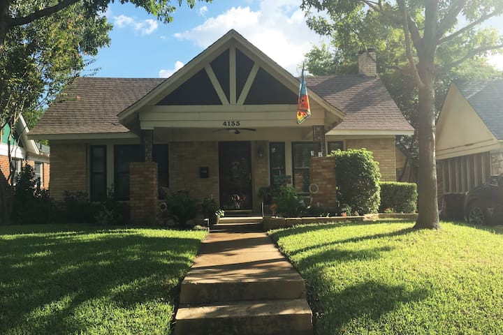 Cute and comfy stay in quaint Arlington Heights - Fort Worth - Talo