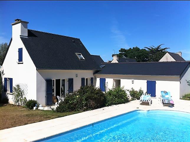 Maison spacieuse avec piscine proche de la plage - Pléneuf-Val-André - House