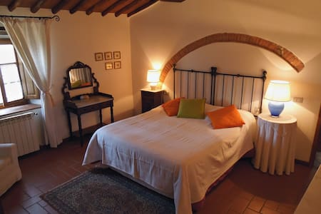 Charming cottage in resort with shared pool - Lecchi in Chianti - 別荘