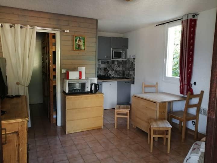 Très joli studio cabine (25 m²) AURIS EN OISANS