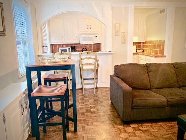 Corner unit in Historic Building, Center Downtown!