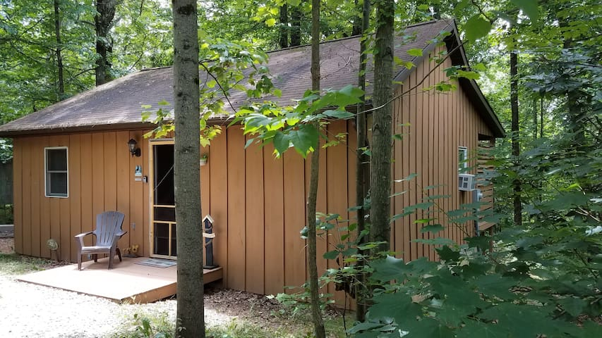 """The Nest Cabin"" at Hiding Place Cabins"