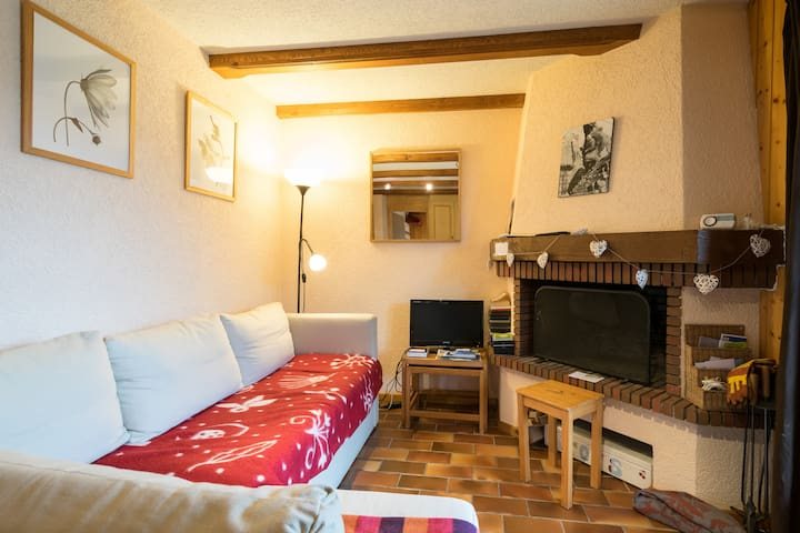 Lovely 1 Bed Apt. Sleeps 4. Incredible view! - Les Diablerets - Pis