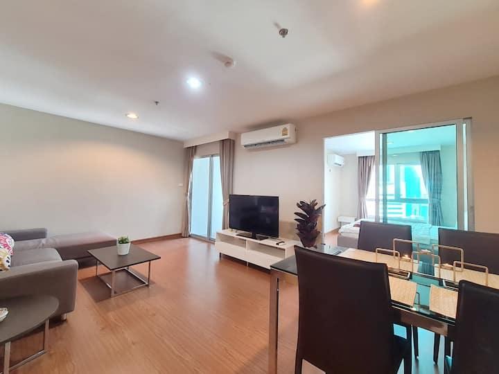 LOVE STORY HOUSE : 1BR  WIFI/POOL/MRT