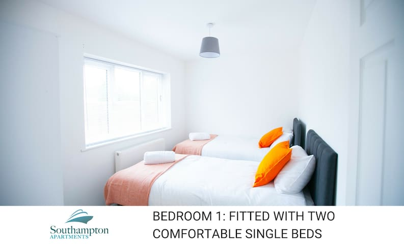 Stay in style Southampton 2 bed w/parking