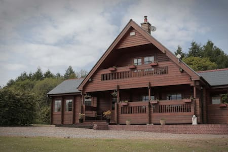 Log Cabin with wonderful views