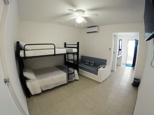(5)Departamento en Cancun Azucenas