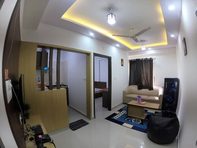 DivBnb(E01):★★★★Suites Style 1 BHK in BTM Layout