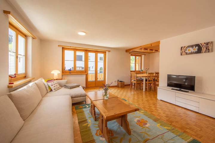 Apartment Sport-Lodge Klosters (Klosters), Apartment 3, 3 bedrooms, max. 6 persons, 120m2