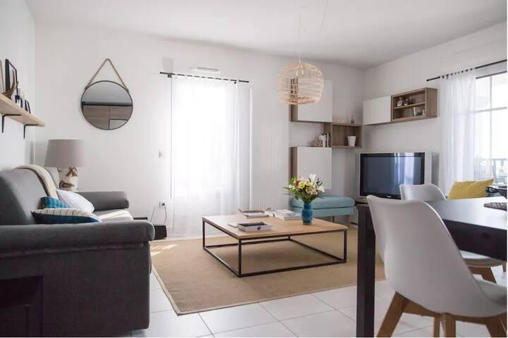 Bidart │Très bel appartement · 4pax · 10mn de la plage · Parking