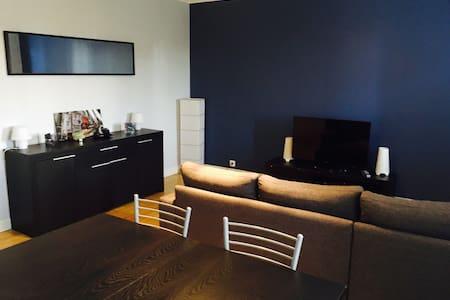 Bel appartement avec vue sur jardin - Châteauroux - Apartamento