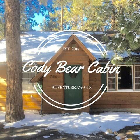 Cozy Cody Bear Cabin in Moonridge - Big Bear Lake - Talo