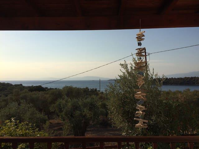 Trikeri island, Nefeli villa for 6 - Trikeri island