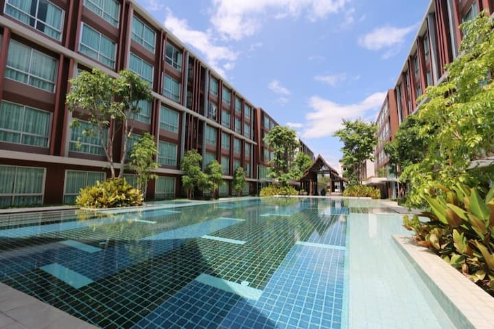 Thai Modern Style Closed To Old City, Pool, Gym