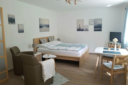 Cosy, central situated flat with parking place