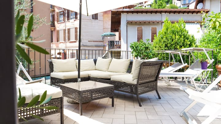 Ca' due Olivi - m. 5 Apartments und Hof- idyllisch