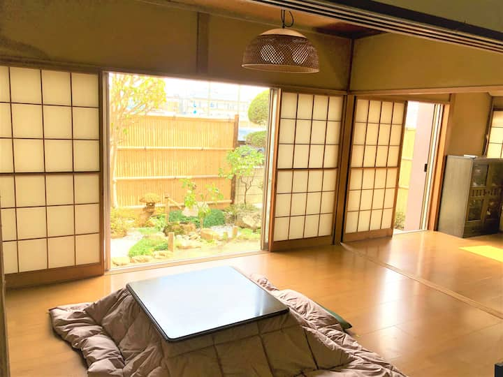 Feel relaxing in Japanese calm atmosphere house