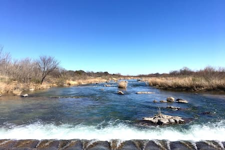 Llano River Front With Huge Covered Patio - Llano - Cabin