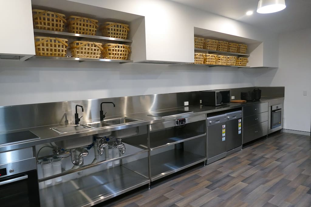 PrecinQ shared kitchen facilities.