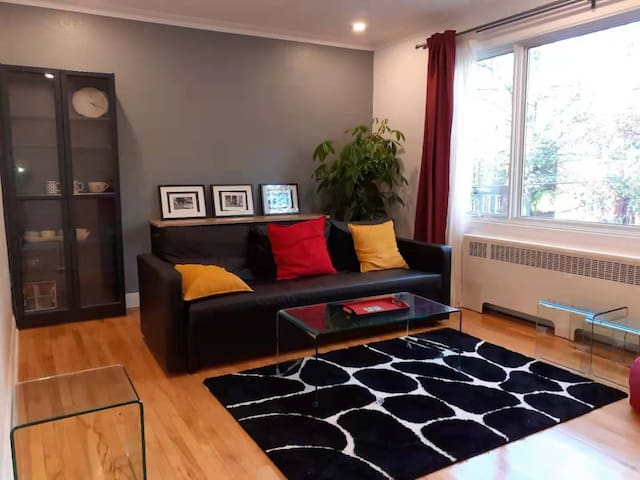 Ideal apartment for small family in NDG