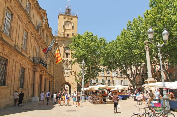 Aix-En-Provence, Center, T2, Apartment 30m2