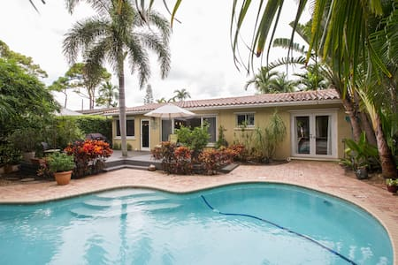 Located Close to Ft. Lauderdale Beaches & Las Olas - Oakland Park - Rumah