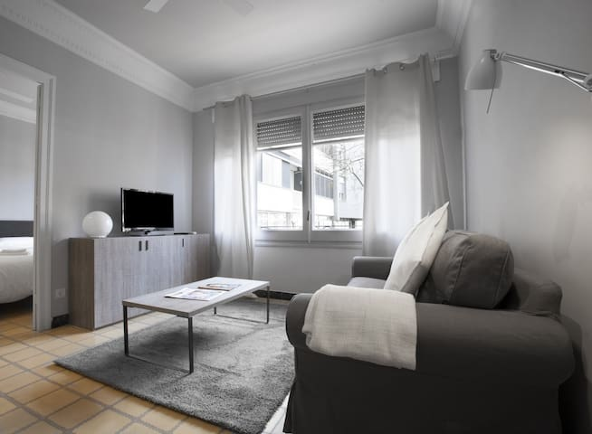 Two bedroom apartment in Barcelona.